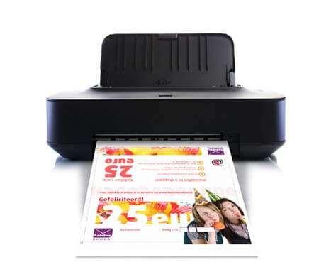 cadeaubon direct printen